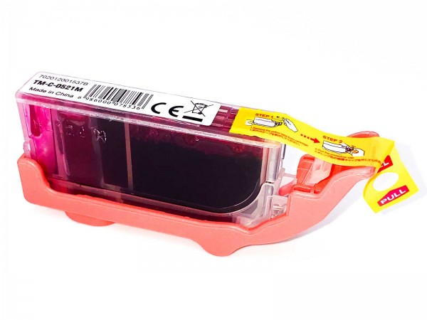 Kompatibel zu Canon CLI-521M / 2935B001 Tinte Magenta