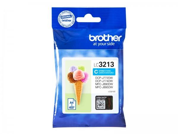 Brother LC3213C Tintenpatrone Cyan