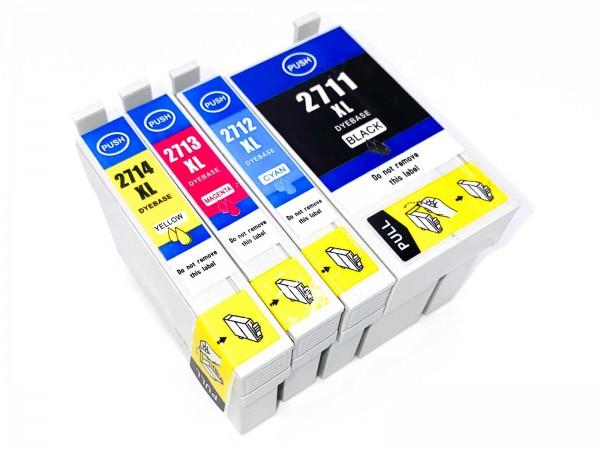 Kompatibel zu Epson 27XL / Tinte Multipack C,M,Y,BK